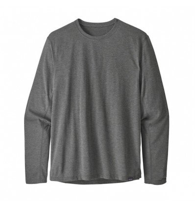 Sweat Long-Sleeved Capilene® Cool Trail Shirt Patagonia homme (Black)