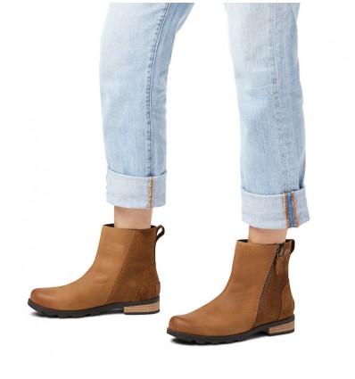 Boots Sorel Emelie Zip Bootie (brown