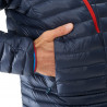 Ski TRILOGY SYNTH'X down hoodie (indian / red) - MILLET - AlpinStore
