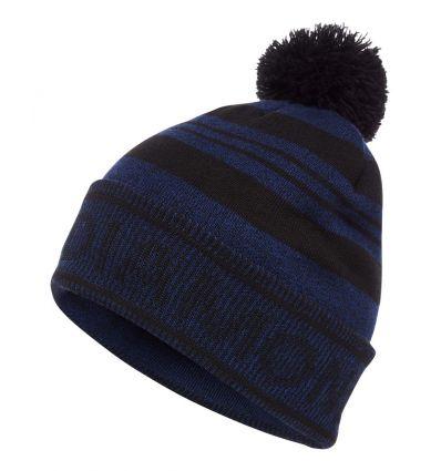 Bonnet Black Diamond Pom Beanie (Black/blue)