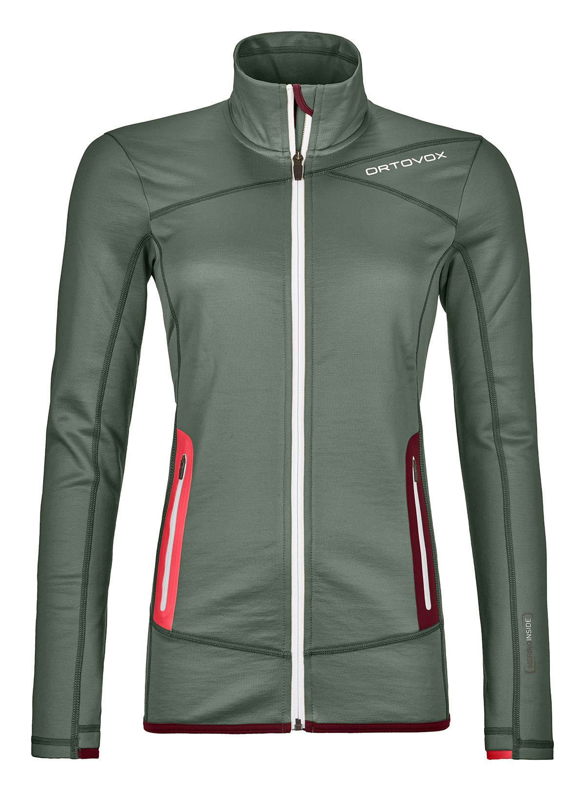 Ortovox Fleece Jacket Green Forest Woman Alpinstore