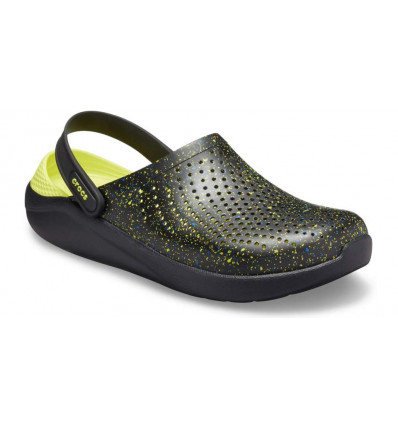 Crocs Literide Hyper Bold Clog (Black/Black)