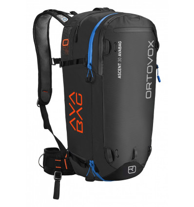 Sac Airbag ORTOVOX Ascent 30 avec Avabag (Noir anthracite)