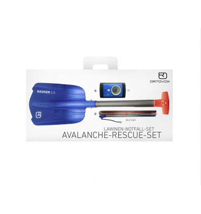 Ortovox Transceivers Avalanche Rescue Kit 3 plus (Different Colours)