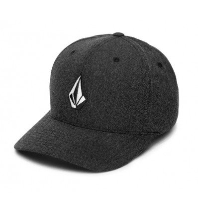 Casquette VOLCOM Full Stone Heather Xfit (Charcoal Heather) homme