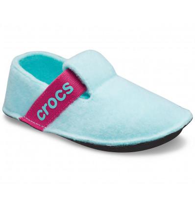 CROCS Kids' Classic Slipper (ice blue)