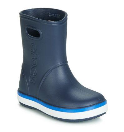 CROCS Kids' Crocband™ Rain Boot (bleu marine/cobalt)