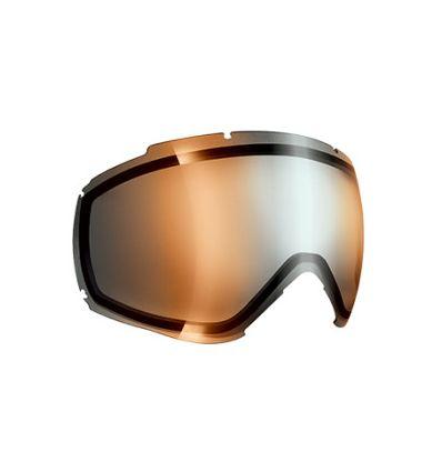 Matte Black//Orange Flash Mirror Cat.2 C/éb/é Ridge OTG Mascaras de esqu/í Adultos Unisex Large