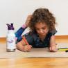 Klean Kanteen 12 oz Kid Insulated BLUE Sport Cap 355 ml (paper dinos black mat) enfant