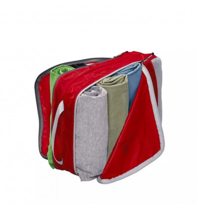 Sac rangement Eagle Creek Pack-It Specter™ Clean Dirty Half Cube (red)