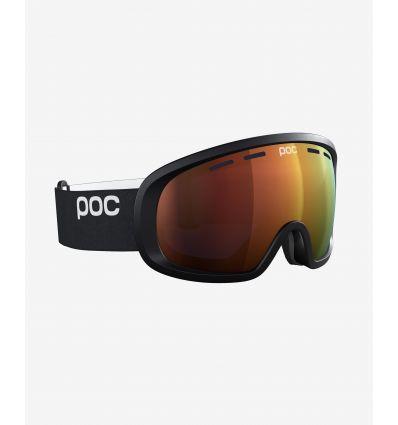 Masque Poc Fovea Mid Clarity (Uranium Black/Spektris Orange)