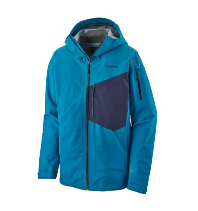 Veste ski de randonnée Patagonia Snowdrifter (Balkan Blue) Homme