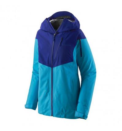 Veste ski de randonnée Patagonia Snowdrifter (Curacao Blue) femme