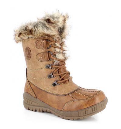 Chaussures après-ski Kimberfeel Delmos (Cappuccino) femme