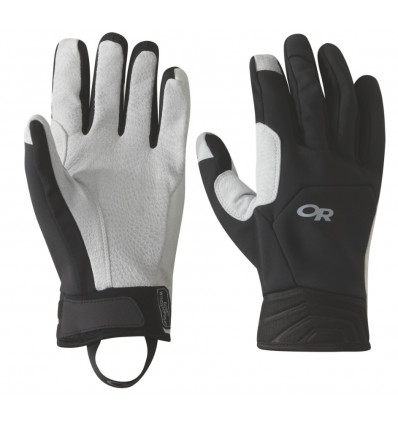 Gants Outdoor Research Mixalot (Noir/alloy)