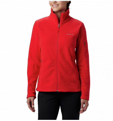 Veste Polaire Columbia Fast Trek II (Red Lily) femme