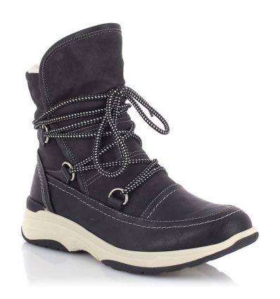 Chaussures hiver Kimberfeel Kresty (Noir) femme