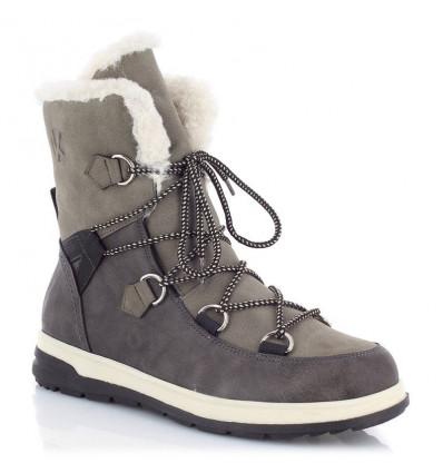 Chaussures d'hiver Kimberfeel Ebelya (Gris) femme