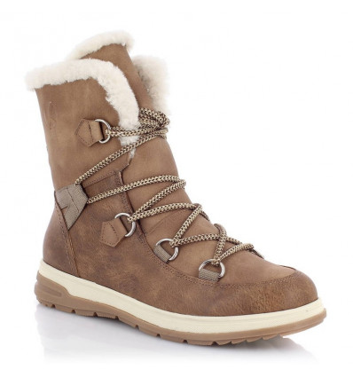 Chaussures d'hiver Kimberfeel Ebelya (Taupe) femme