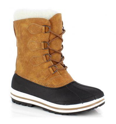 Chaussure après-ski Kimberfeel Beky (Camel) femme