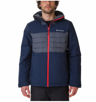 Veste de ski Columbia White Horizon Hybrid Jacket (collegiate navy)