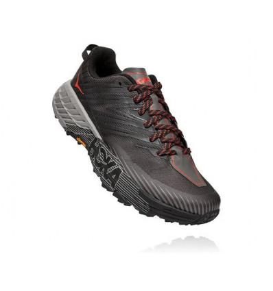 Trail Hoka One One Chaussure de trail Speedgoat 4 (Dark Gull Grey / Anthracite) - AlpinStore