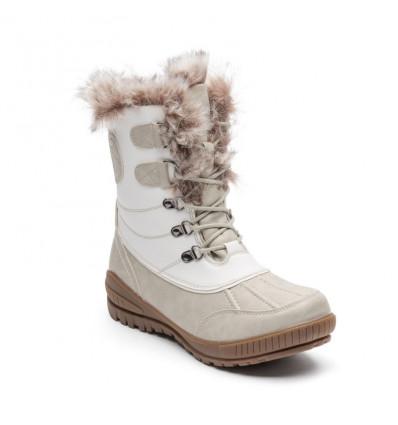 Chaussures après-ski Kimberfeel Delmos (Blanc) femme