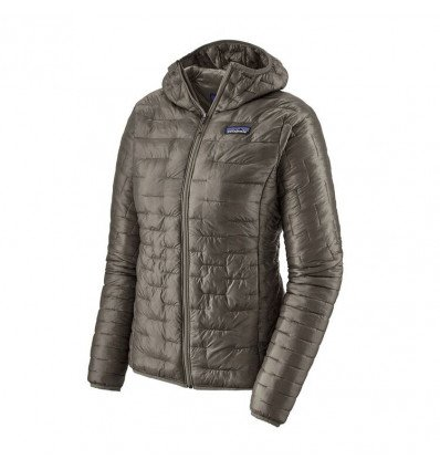 Doudoune Patagonia Micro Puff Hoody (Feather Grey) femme