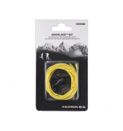 Lacets Quicklace Kit Yellow Salomon