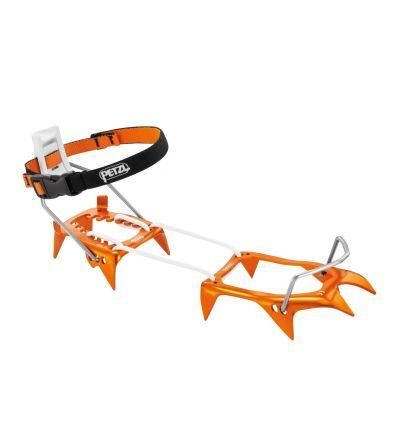 PETZL Crampons LEOPARD LLF (orange/gris)