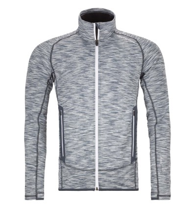 Veste polaire Ortovox SPACE DYED (Grey Blend) Homme