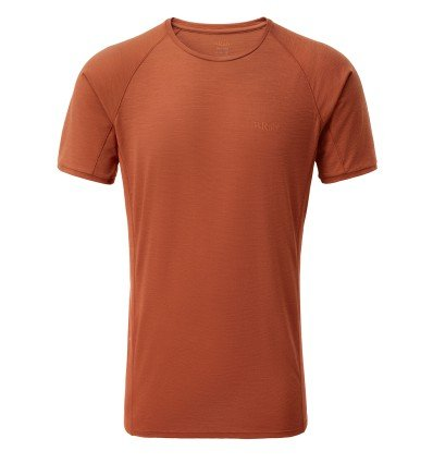 T-shirt Rab Forge (Red Clay) homme