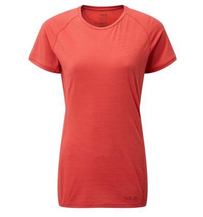 T-shirt Rab Forge (Geranium) femme