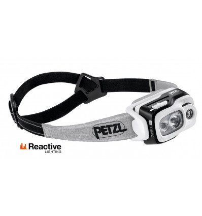 Headlamp PETZL SWIFT RL (black) - AlpinStore