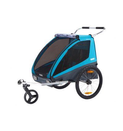 Remorque pour vélo THULE Coaster XT (bleu)