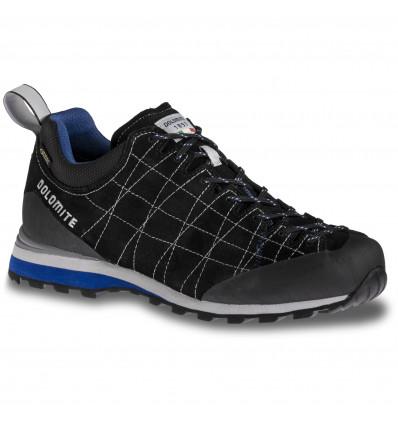 Chaussure marche active Dolomite Diagonal Gore Tex (Black/Bright Blue) Homme