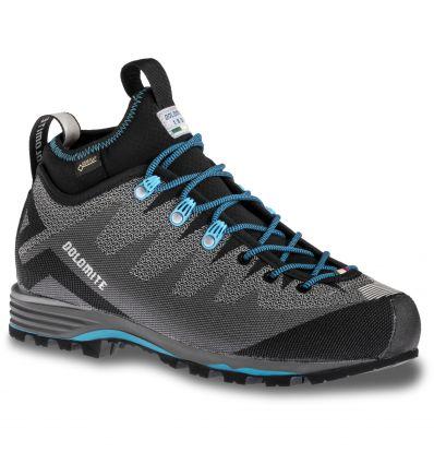 Chaussures d'alpinisme Dolomite Veloce GTX (Pewter Grey/lake Blue) Femme