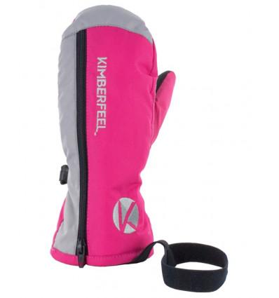 Gants de ski Arêches Kimberfeel pink enfant