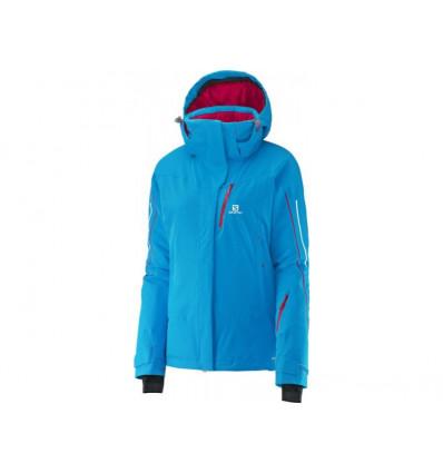 Veste hiver Iceglory Jacket W Methyl Blue Salomon femme
