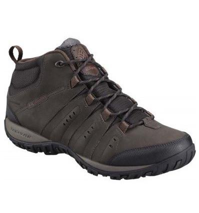 Chaussures Imperméables Columbia Woodburn II Chukka Omni-Heat (cordovan/garnet red)