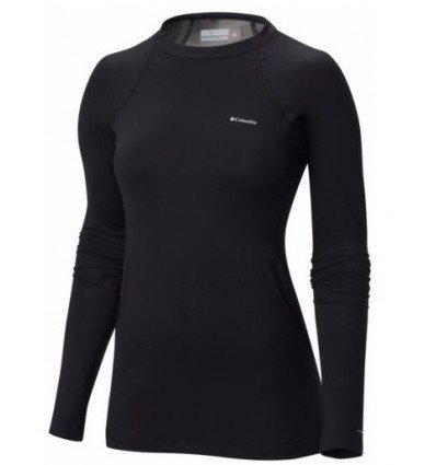Haut Manche Longues Columbia Midweight Stretch Femme (black)