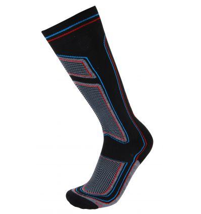 Chaussette de ski BIO-CERAMIC noir / bleu / rouge Rywan