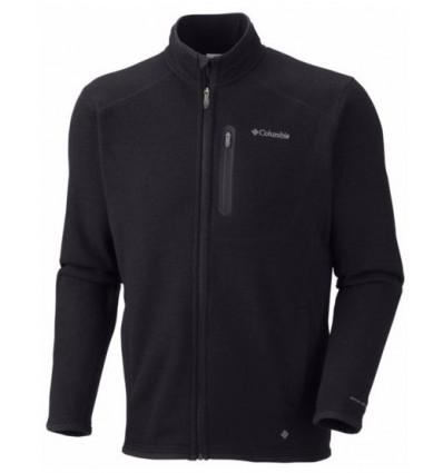 Polaire Zippé Columbia Altitude Aspect (black heather)