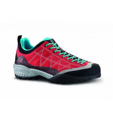 Chaussure Scarpa Zen pro femme tomato cyan