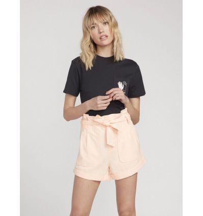Short Volcom PAP Bag (Light Peach) femme