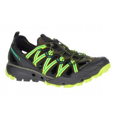 Chaussures de randonnée Merrell Choprock (Vert olive) Homme