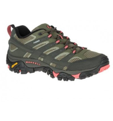 Chaussures de randonnée Merrell Moab 2 Gore tex (Beluga/olive) Femme