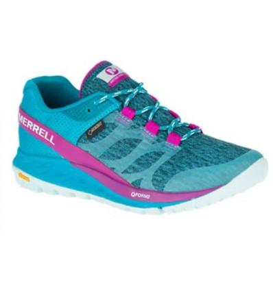 Chaussures de trail Merrell Antora Gore tex (Bleu) Femme