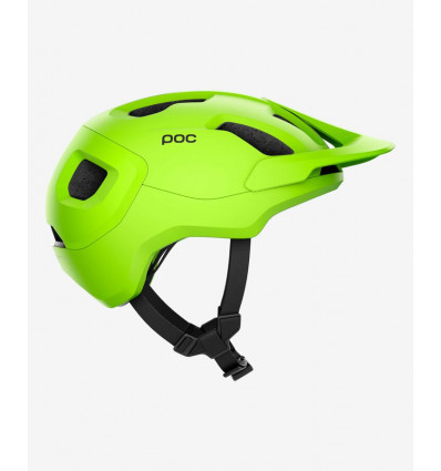 Casque vélo Poc Axion Spin (Fluorescent Yellow/green Matt) unisexe