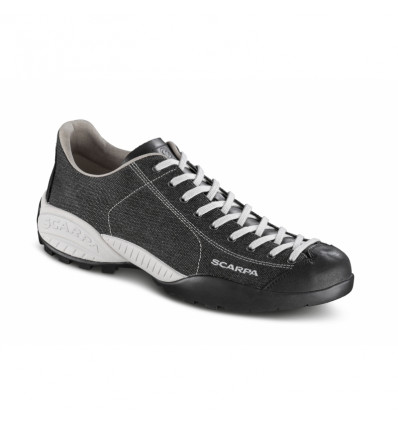 Scarpa Mens Mojito Canvas Shoes (Black)